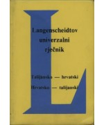 Talijansko - hrvatski, hrvatsko - talijanski rječnik